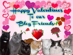 Happy Valentines my friends 00 Valentine Card Tomcat Blog