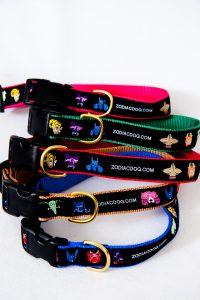 ZodiacDog Collars – Comes in Blue, Green, Red, Pink & Gold For both Small and Large dogs.