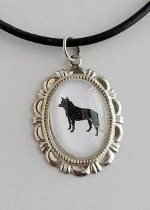 australian cattle dog necklaceaustraliancattledogneckcu