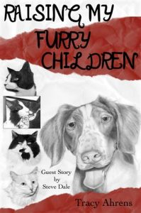 """My book – """"Raising My Furry Children"""" with proceeds helping American Brittany Resc"""