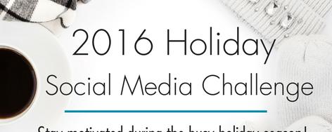 2016 Holiday Challenge