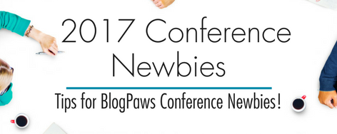 2017 Conference Newbies