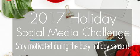 2017 Holiday Challenge