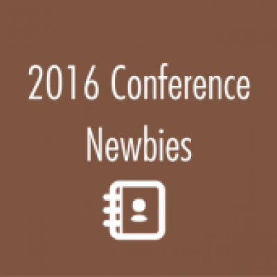 Group logo of 2016 Conference Newbies