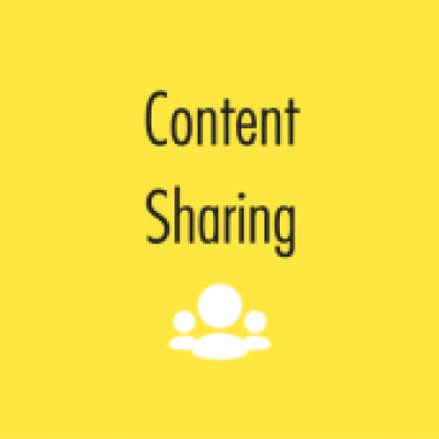 Group logo of Content Sharing